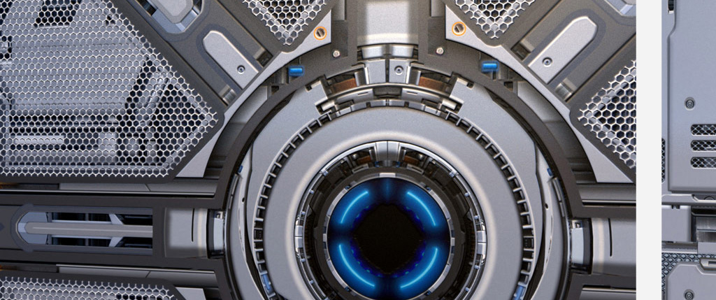 Pino gengo: Sci-fi Tech Mech Texture